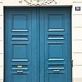 Paris Door by Georgia Fowler