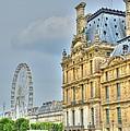 Paris Ferris Wheel by Linda Covino