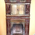 Paris Fireplace by Linda Covino