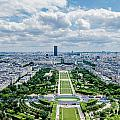 Paris From Above by Amel Dizdarevic