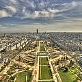 Paris From Eiffeltower by Michael Nystrom