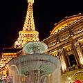 Paris Hotel And Casino In Las Vegas by Jamie Pham