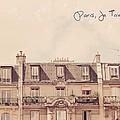 Paris Je T'aime by Mable Tan