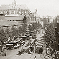 Paris: Les Halles, C1900 by Granger