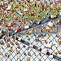 Paris - Locks Of Love by Pati Photography