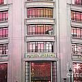 Paris Louis Vuitton Boutique Fashion Shop On The Champs Elysees by Kathy Fornal