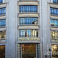 Paris Louis Vuitton Fashion Boutique - Louis Vuitton Designer Storefront In Paris by Kathy Fornal