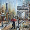 Paris Lovers II by Marilyn Dunlap