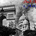 Paris Montage 2 by Andrew Fare