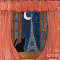 Paris Moonlight by Lee Owenby