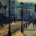 Paris  Morning by Dragica  Micki Fortuna