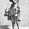 Paris Musician, C1740 by Granger
