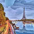 Paris Nights by Yury Malkov