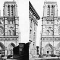 Paris Notre Dame, C1860 by Granger