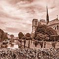 Paris Notre Dame Toned by Georgia Fowler
