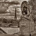 Paris Panorama by Michael Kirk