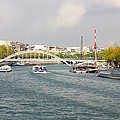 Paris River Cityscape by Pati Photography