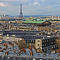 Paris Rooftops by Dave Mills
