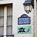 Paris Street Art - Space Invader by Ivy Ho