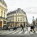 Paris Street Scene by Jim Pruett