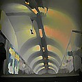 Paris Subway Tunnel by John Malone