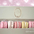 Paris Macarons Laduree Tea Shop Patisserie - Dreamy Laduree Box Of French Macarons - Paris Macarons by Kathy Fornal