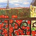 Paris View by Mary DeSilva
