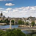 Paris View Notre Dame by Gary Eason