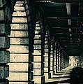 Parisian Rail Arches by Lenny Carter