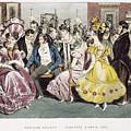 Parisian Salon, 1825 by Granger