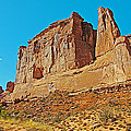 Park Avenue In Arches National Park-utah by Ruth Hager