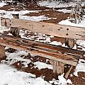 Park Bench by Joe Belanger