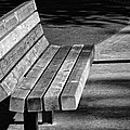 Park Bench by Ludwig Keck