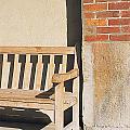 Park Bench by Robert Rosati