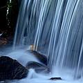 Park City Waterfall by Richard Cheski
