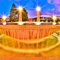 Park Fountain by Bryan Hildebrandt