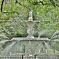 Forsyth Park Fountain - Savannah Georgia by Kim Bemis