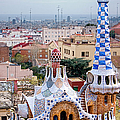 Park Guell Candy House - Gaudi by Weston Westmoreland