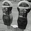 Parking Meters by Debbie Nobile