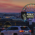 Parking Wheel by Scott Campbell