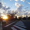 Parkway Sunset by Lyric Lucas