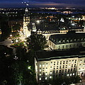 Parlament Quebec At Night  by Christiane Schulze Art And Photography