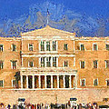 Parliament Of Athens by George Atsametakis