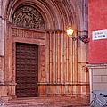 Parma Baptistery Doorway by Brian Jannsen