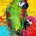 Parrot Lovers by Mona Edulesco
