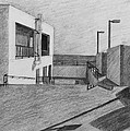 Part Of School Building by Kume Bryant