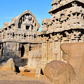 Part Of The Five Rathas Complex by Steve Roxbury