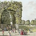 Part Of The Garden At Ausgarten by Johann Ziegler