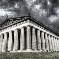 Parthenon Of Nashville by Honour Hall
