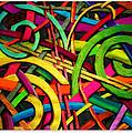 Particle Track Twenty Four by Scott Wallin
